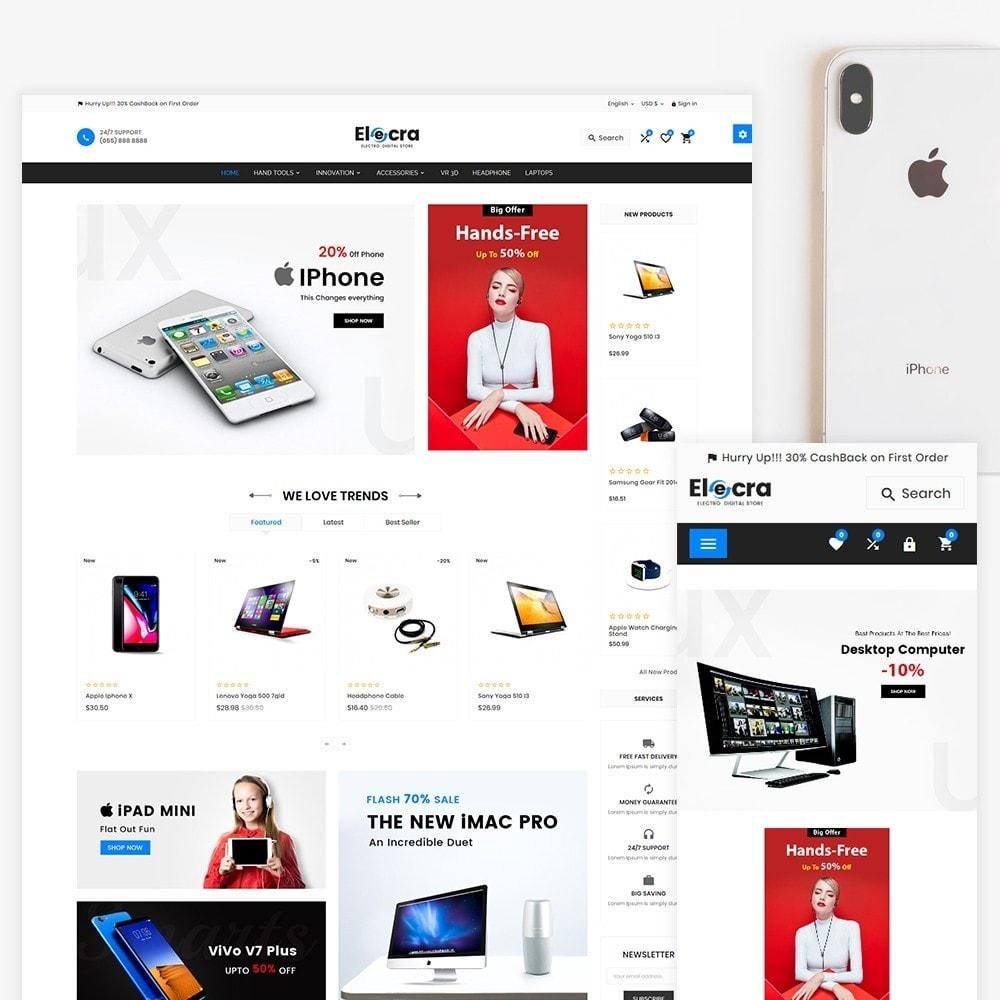 theme - Электроника и компьютеры - Elecra - Electronic Super Store - 2