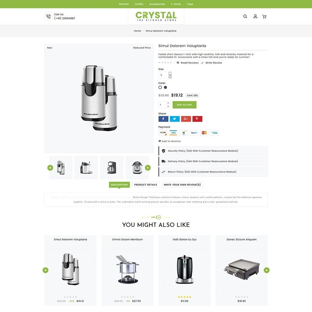 theme - Дом и сад - Crystal Kitchen Store - 4