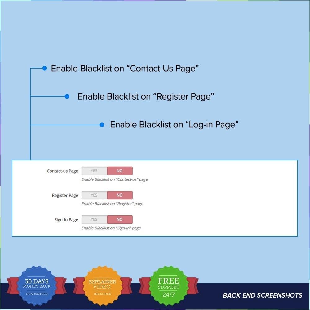 module - Sicherheit & Brechtigungen - reCAPTCHA PRO - Simple - Secure - 8