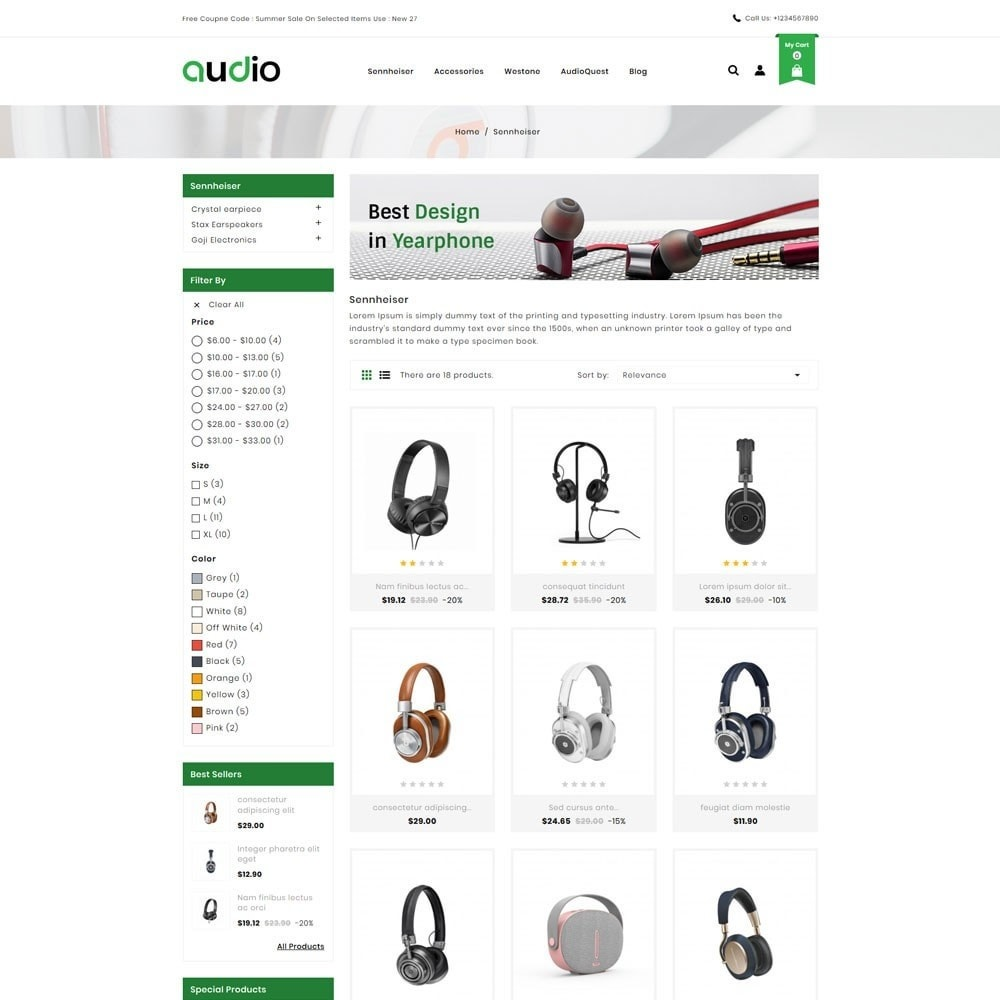 theme - Electronics & Computers - Audio Headphone Store - 3