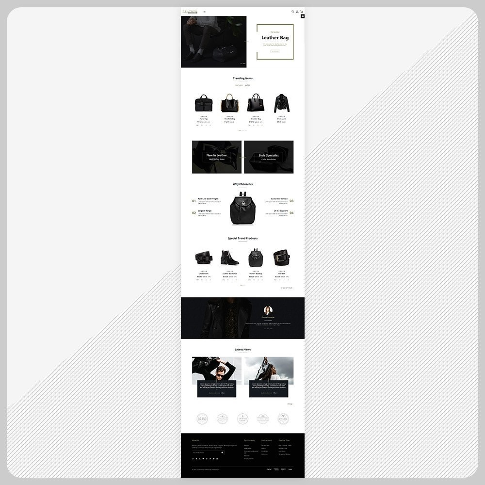 theme - Fashion & Shoes - Sac -  Leather Bag Super Store - 2