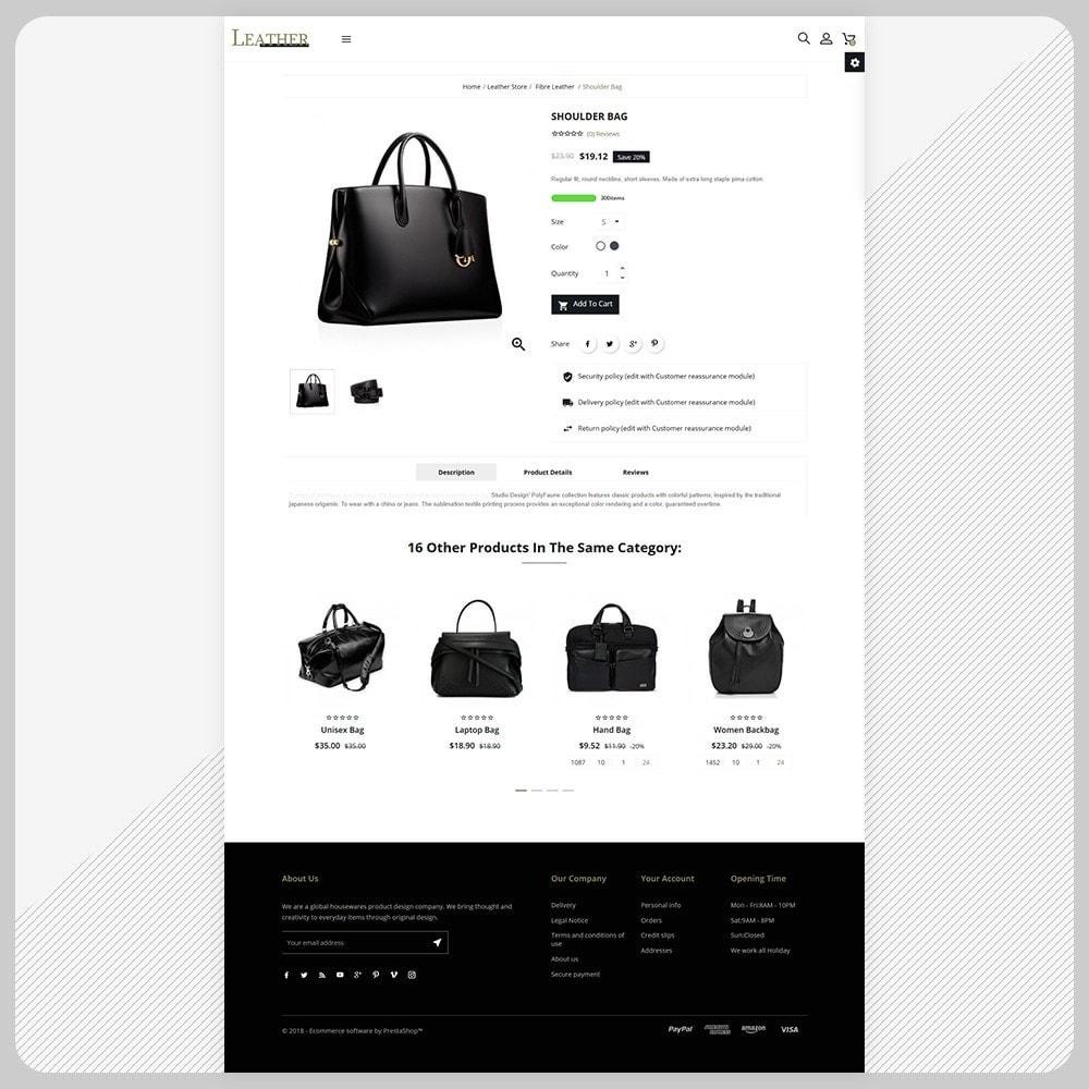 theme - Fashion & Shoes - Sac -  Leather Bag Super Store - 4