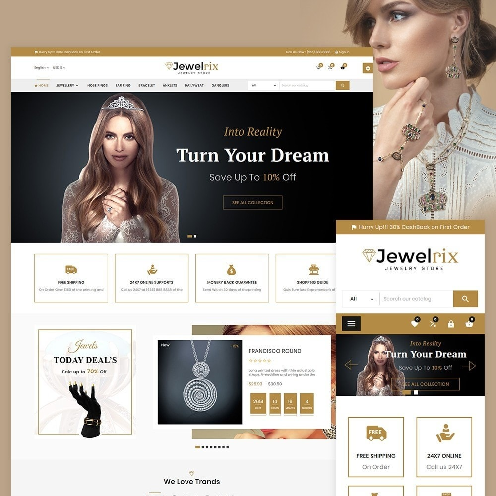 theme - Bijoux & Accessoires - Jewelrix Jeweler Store - 2