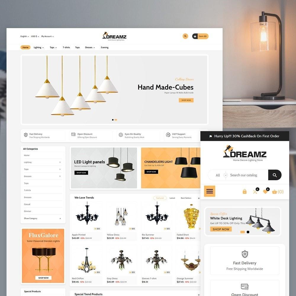 theme - Home & Garden - Dreamz The Lighting Shop - 1