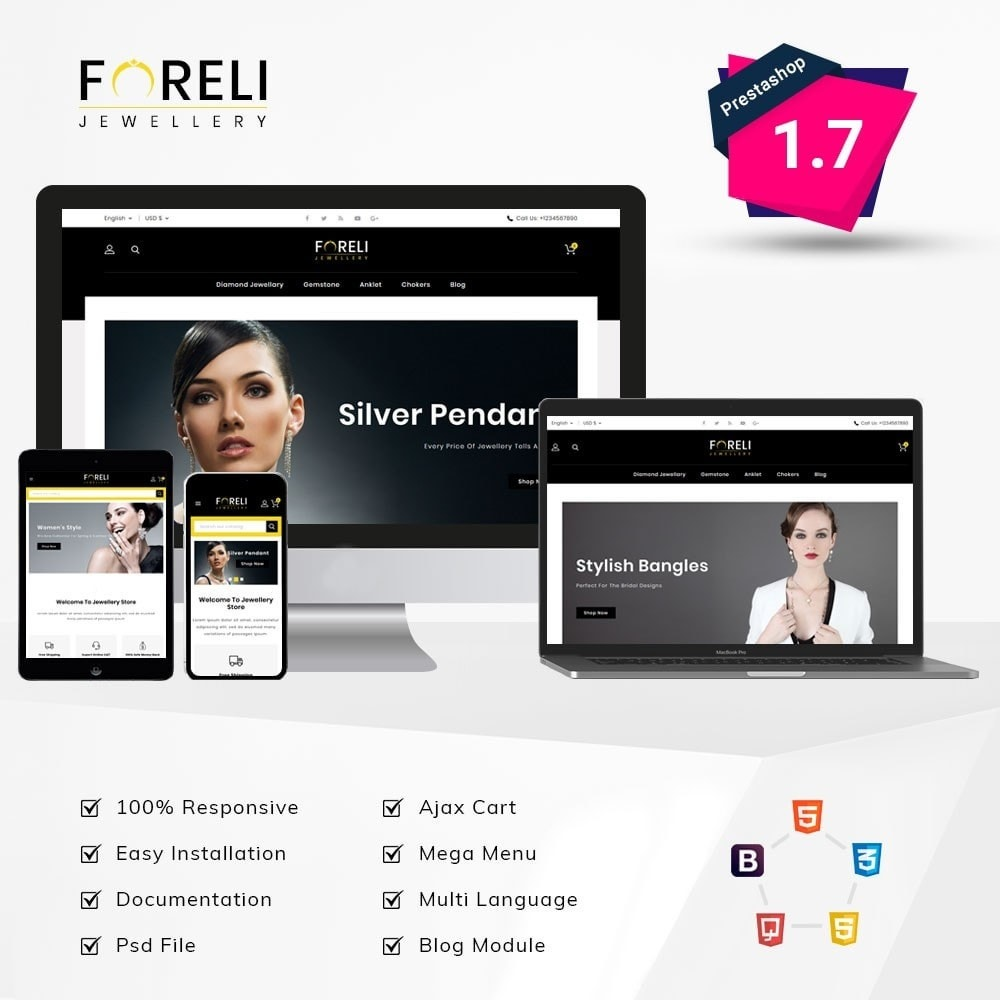 theme - Jewelry & Accessories - Foreli Jewellery Store - 1