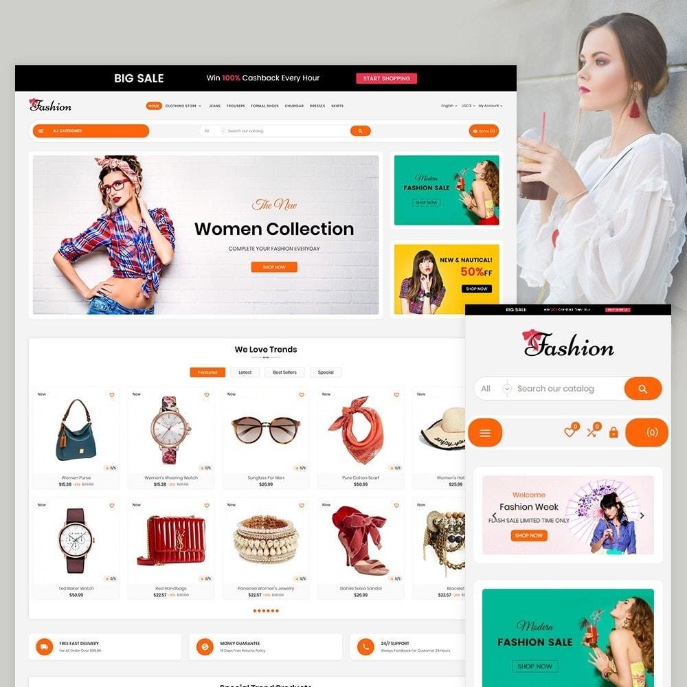 theme - Fashion & Shoes - Stylish Fashion Cloth Multi purpose Store - 2