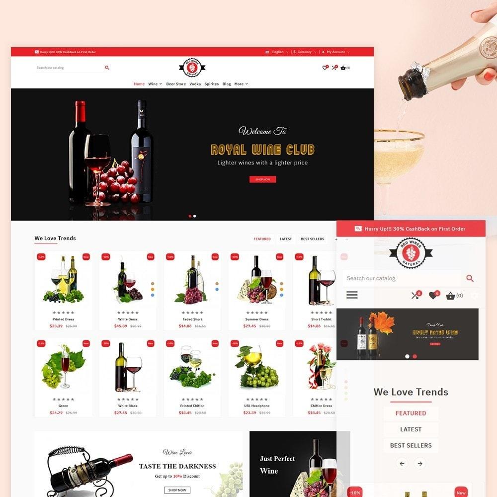 theme - Bebidas & Tabaco - Red Wine Natural Wine Shop - 2