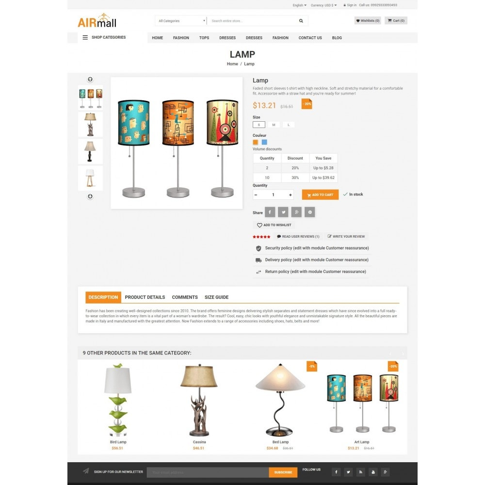 theme - Eletrônicos & High Tech - The AirMall Market - 4
