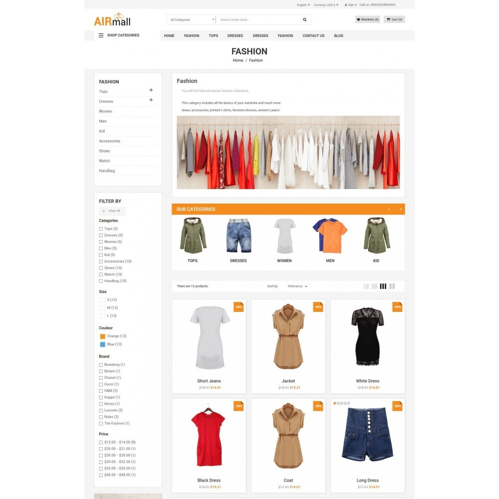 theme - Eletrônicos & High Tech - The AirMall Market - 5