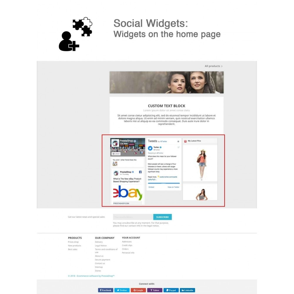 module - Pulsanti di condivisione & Commenti - Social Logins and Coupons + Addons + Statistics 16 in 1 - 14