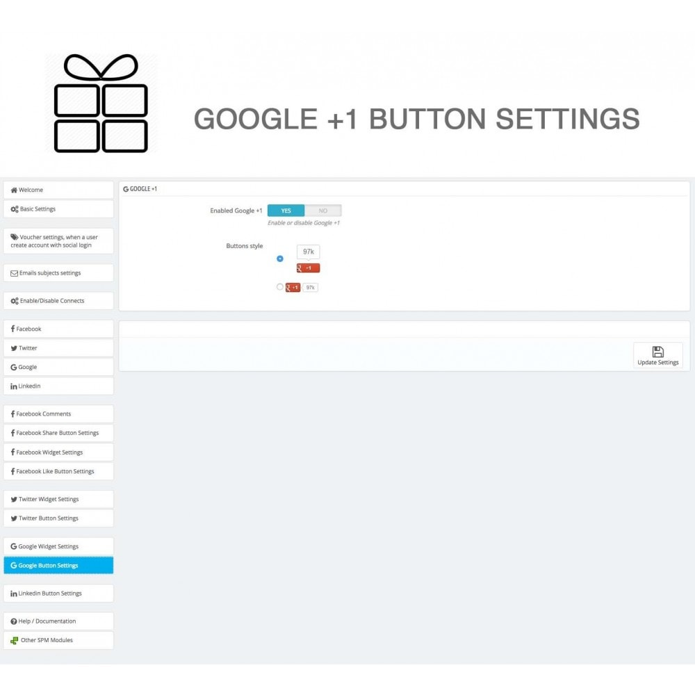 module - Share Buttons & Comments - Full Pack for 4 Social Networks + Statistics - 38