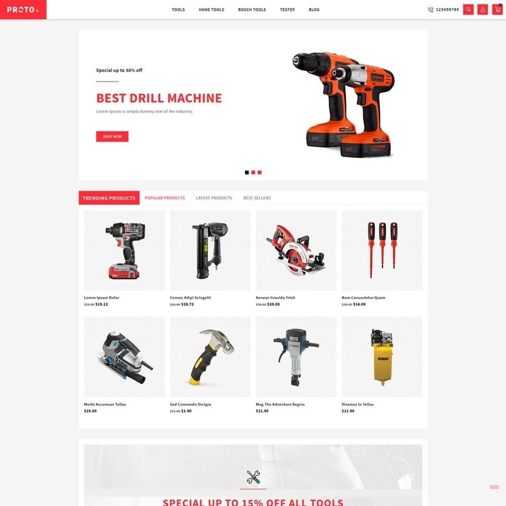 theme - Automotive & Cars - Proto Tools Shop - 2