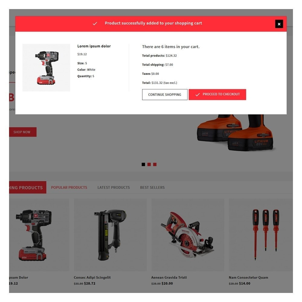 theme - Automotive & Cars - Proto Tools Shop - 6