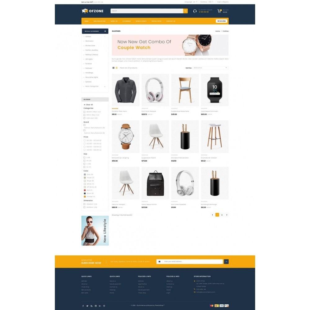 theme - Hogar y Jardín - Ofzone - Multipurpose Store - 3