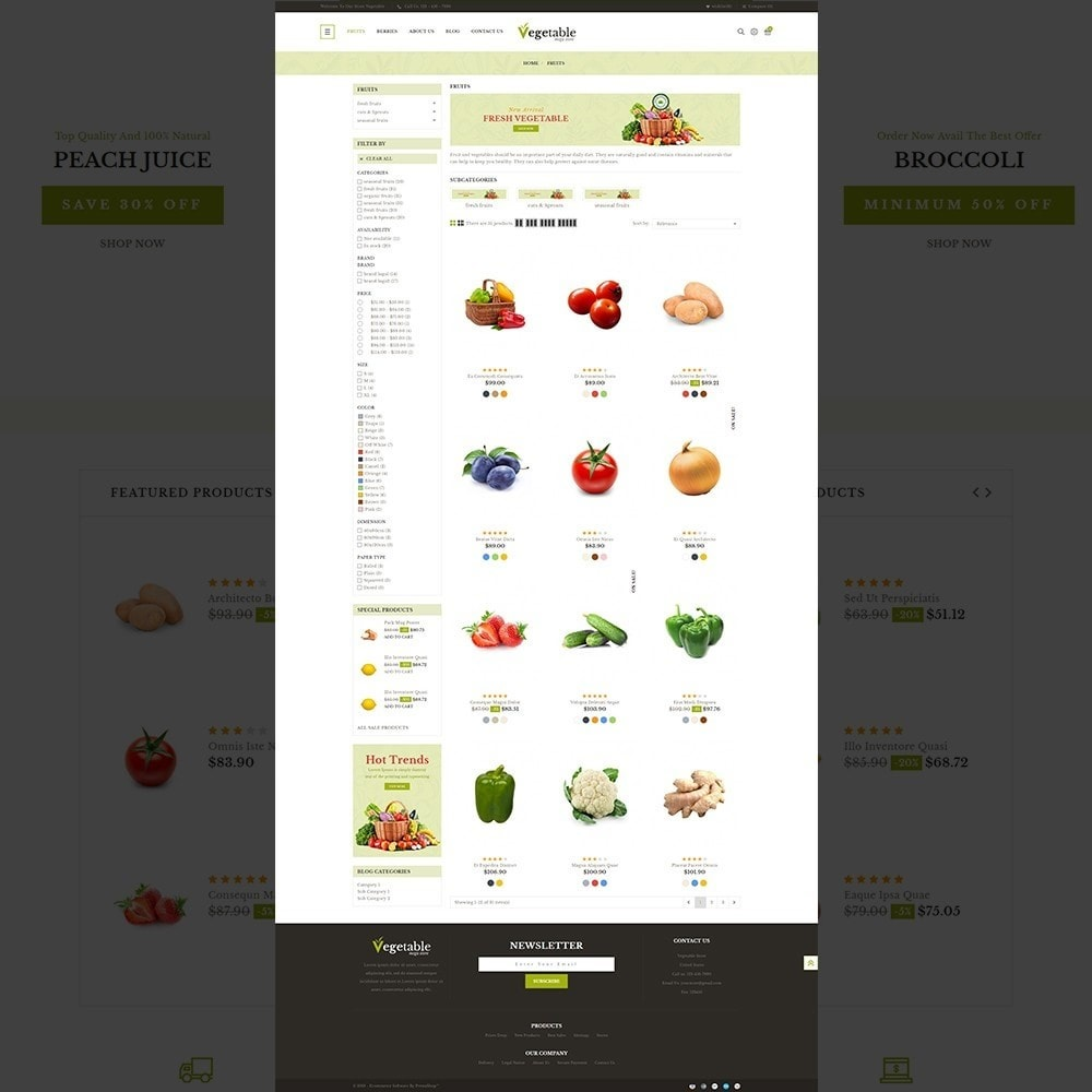 theme - Food & Restaurant - Vegetable – Multipurpose Vegetable Store - 11