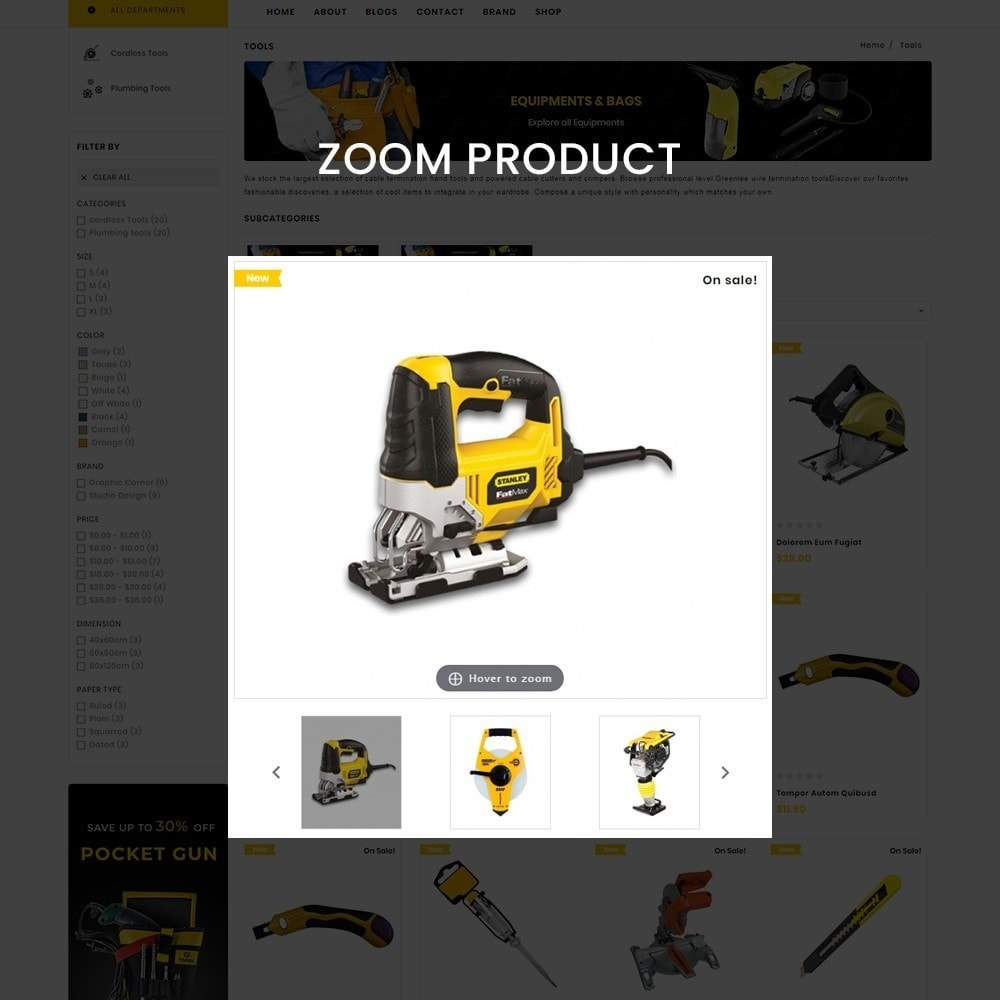 theme - Coches y Motos - Toolscart - Mega Tools Store Template - 9