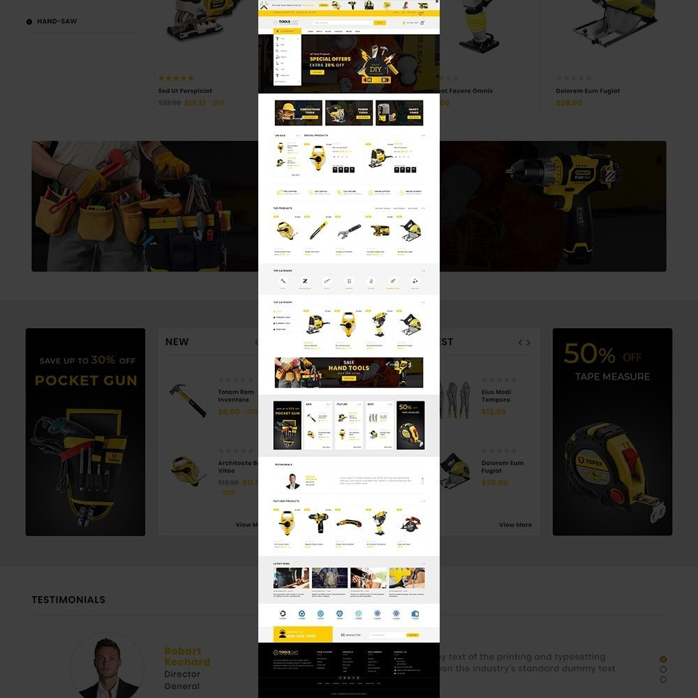 theme - Coches y Motos - Toolscart - Mega Tools Store Template - 10