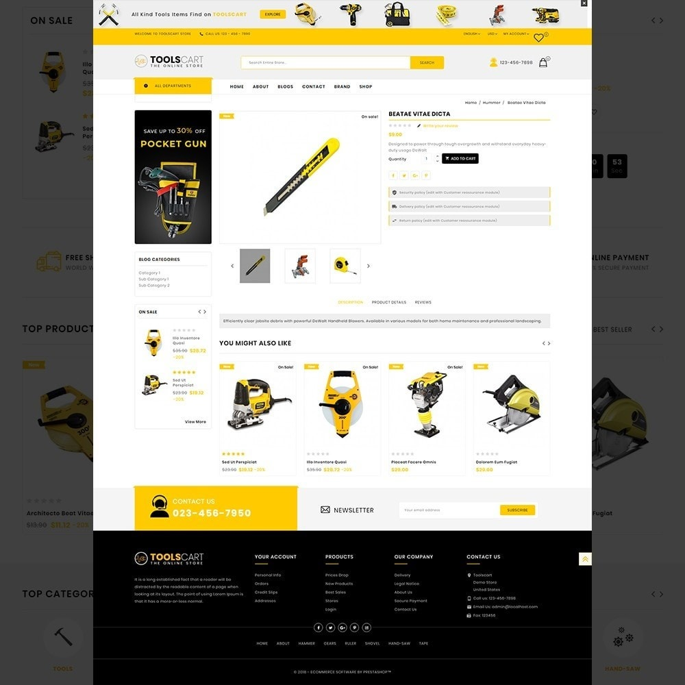 theme - Auto & Moto - Toolscart - Mega Tools Store Template - 13