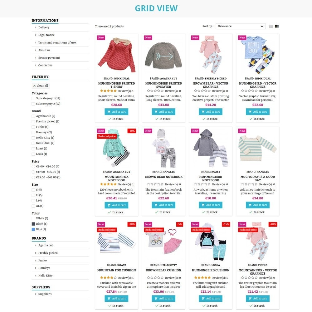 theme - Дети и Игрушки - AT20 - Kid cloths and toys store - 8