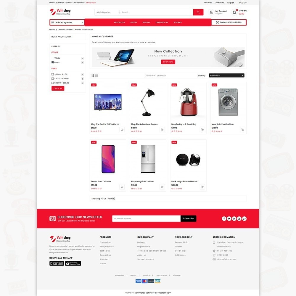 theme - Elettronica & High Tech - VoltShop - The Electronics Store - 3
