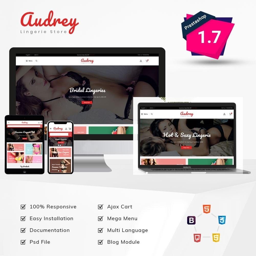 theme - Lingerie & Adult - Audrey Lingerie Store - 1