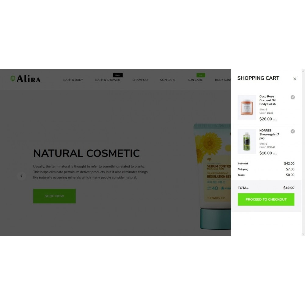 theme - Health & Beauty - Alira Cosmetics - 7