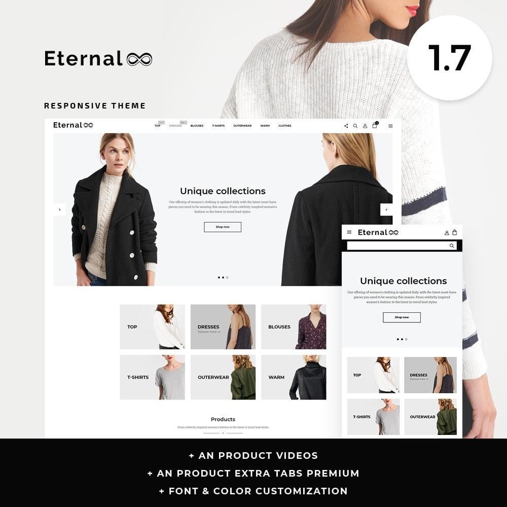 theme - Fashion & Shoes - Eternal Fashion Store - 1