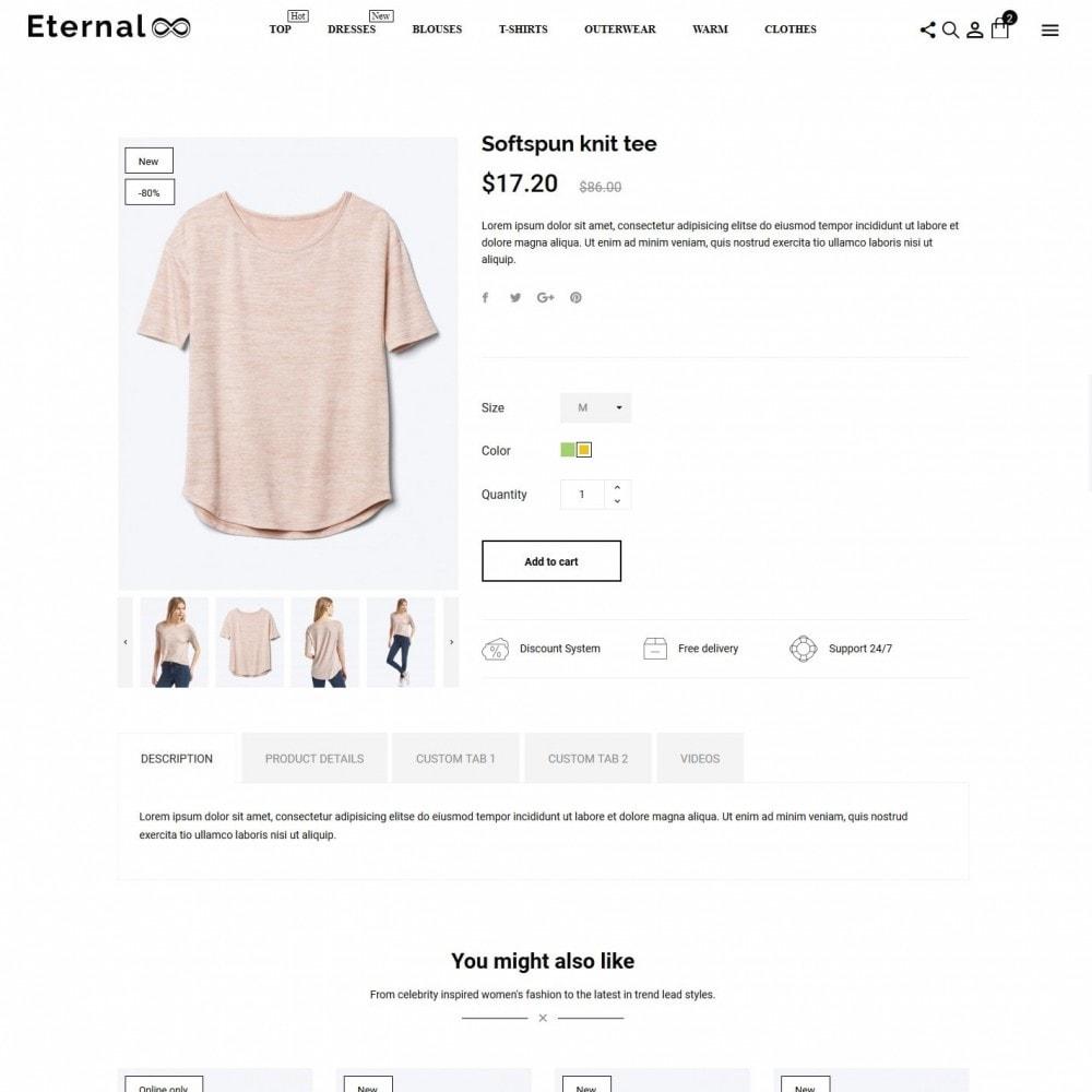theme - Fashion & Shoes - Eternal Fashion Store - 6