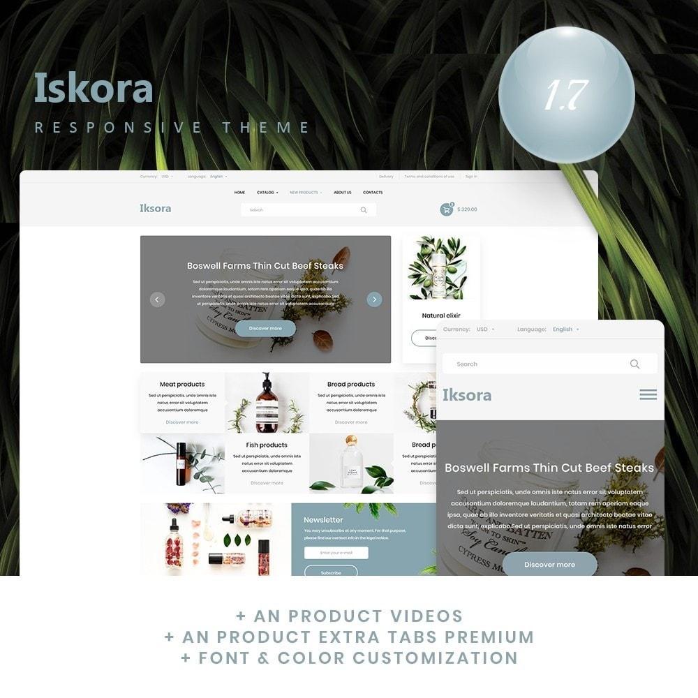 theme - Health & Beauty - Iksora Cosmetics - 1
