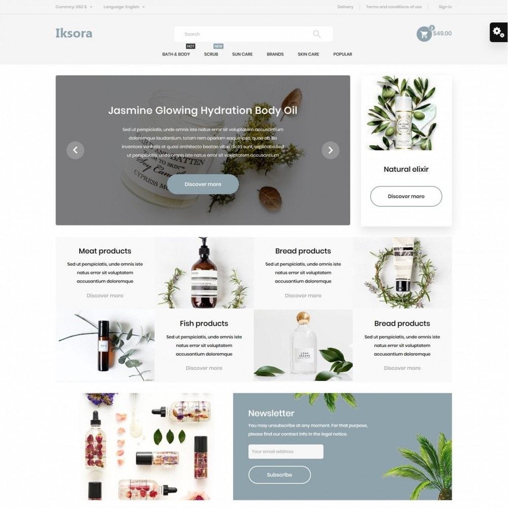 theme - Health & Beauty - Iksora Cosmetics - 2