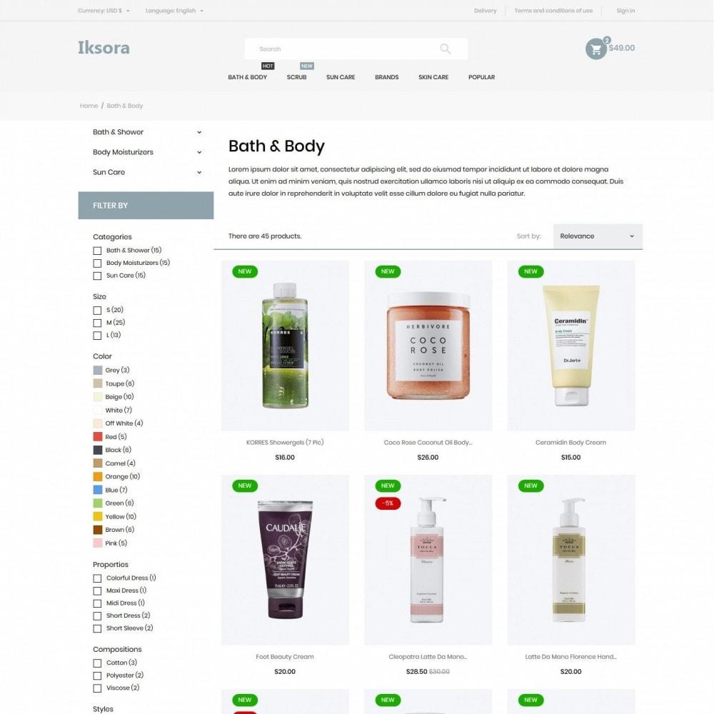theme - Health & Beauty - Iksora Cosmetics - 5