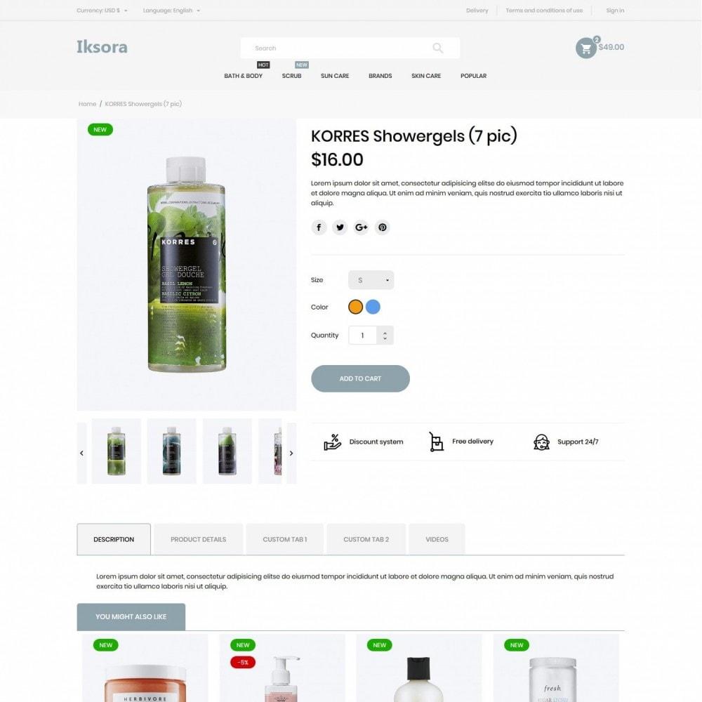 theme - Health & Beauty - Iksora Cosmetics - 6