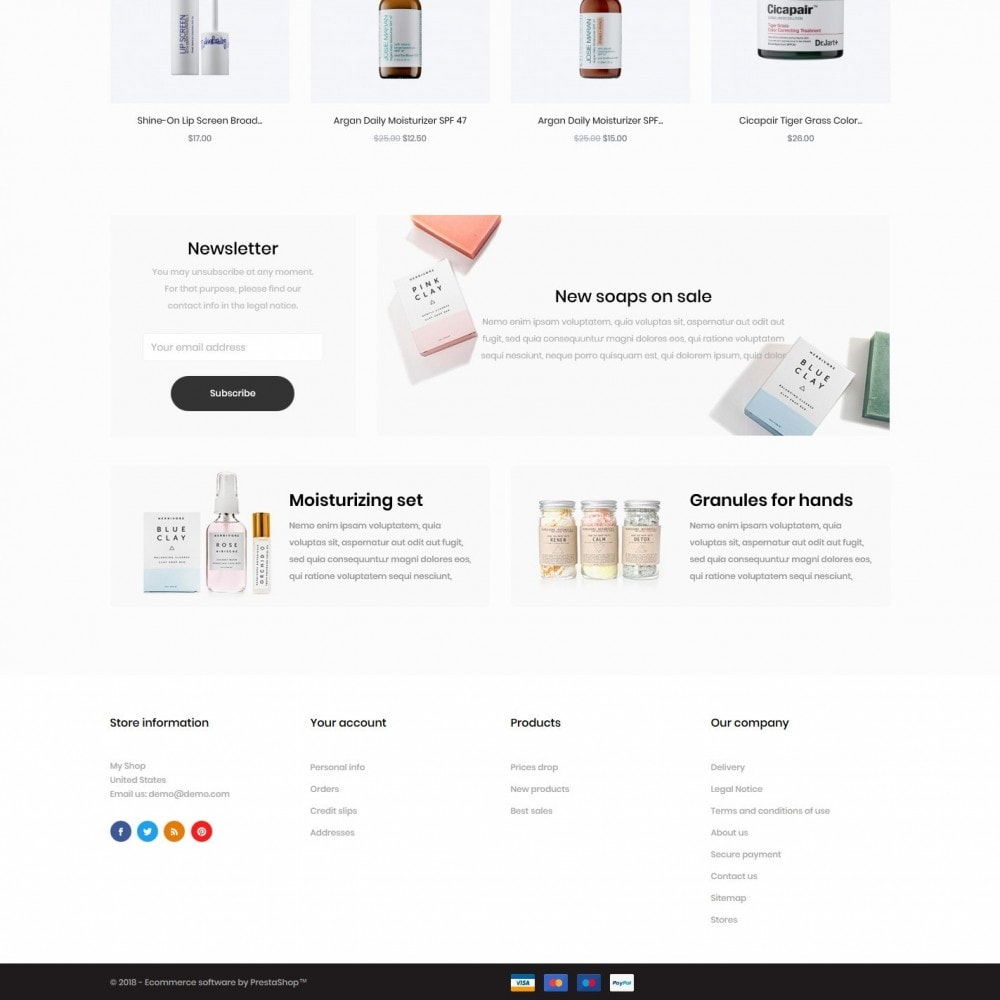 theme - Health & Beauty - Parthenocissus Cosmetics - 4