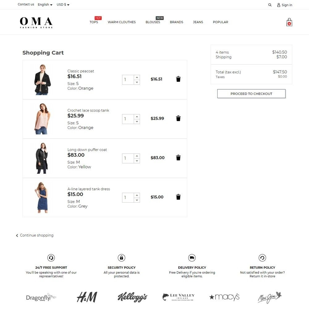 theme - Fashion & Shoes - Oma Fashion Store - 7