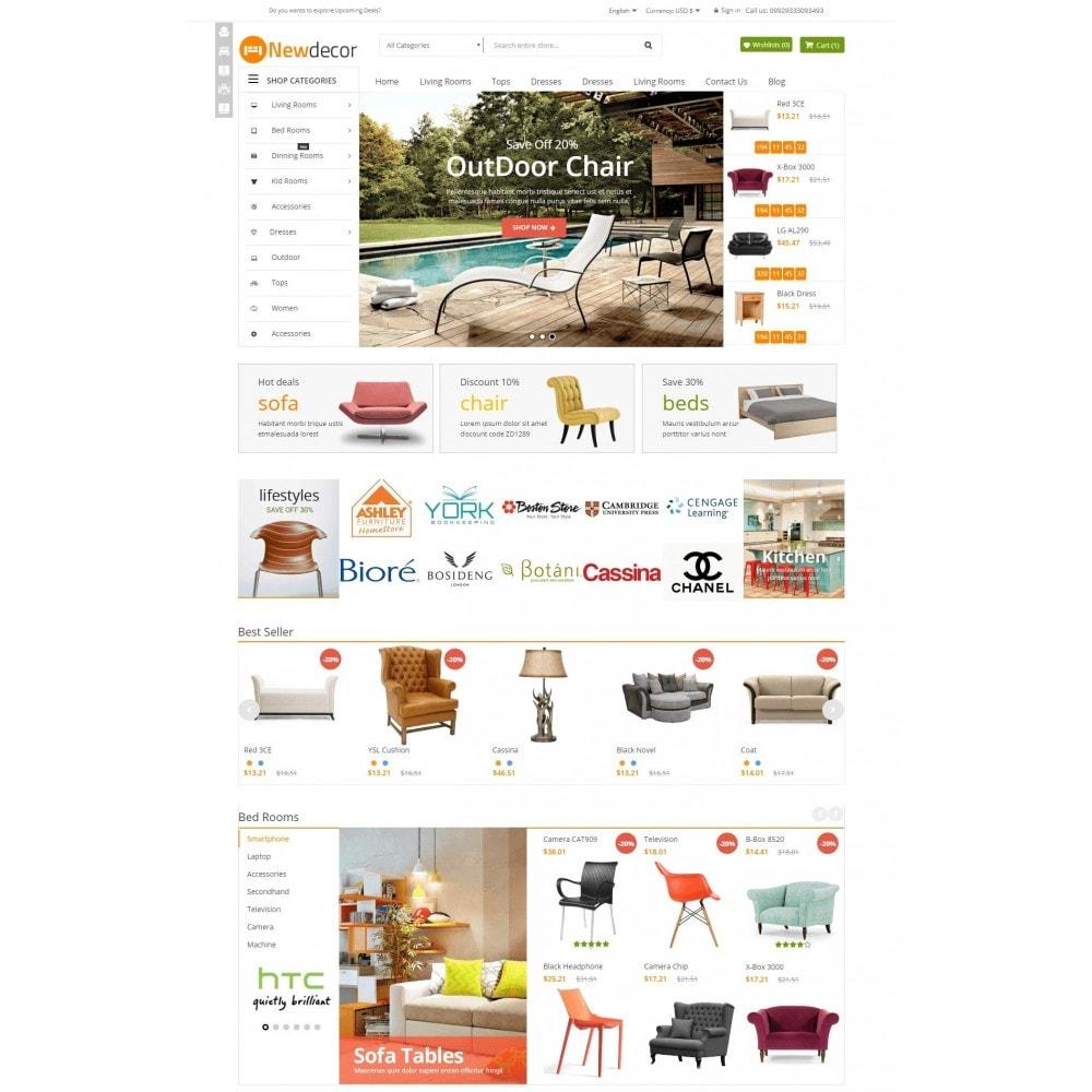 theme - Casa & Jardins - New Decor Furniture - 2