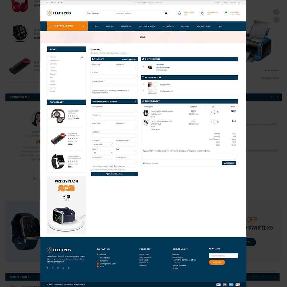 theme - Eletrônicos & High Tech - Electros – Multipurpose Electronic Store - 10