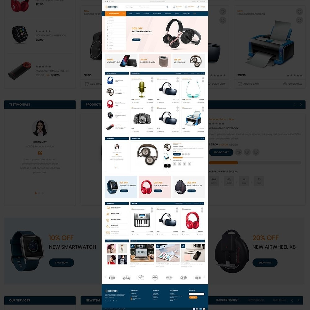theme - Electronique & High Tech - Electros – Multipurpose Electronic Store - 11