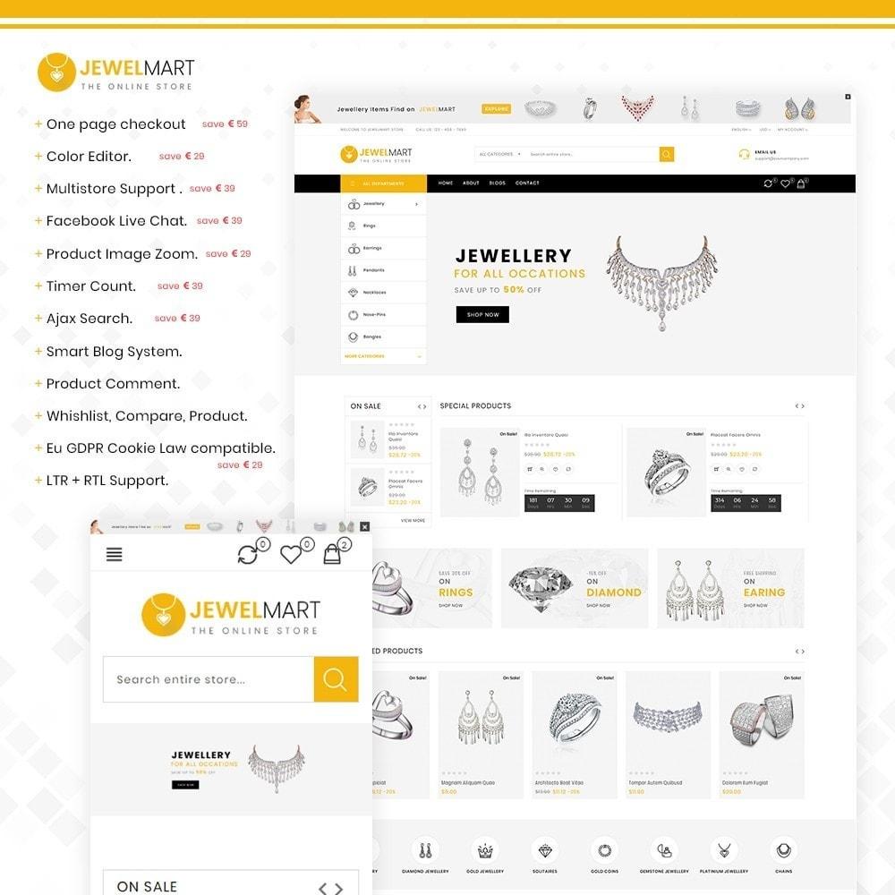 theme - Bellezza & Gioielli - Jewelmart– Multipurpose jewellery Store - 1