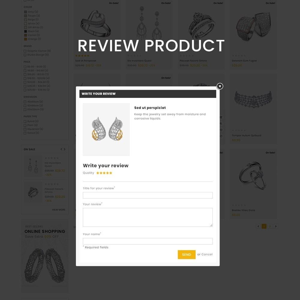 theme - Biżuteria & Akcesoria - Jewelmart– Multipurpose jewellery Store - 7