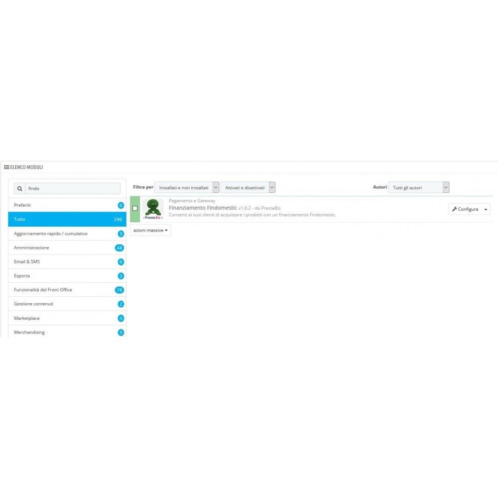 module - Inne środki płatności - Findomestic Payment - 1