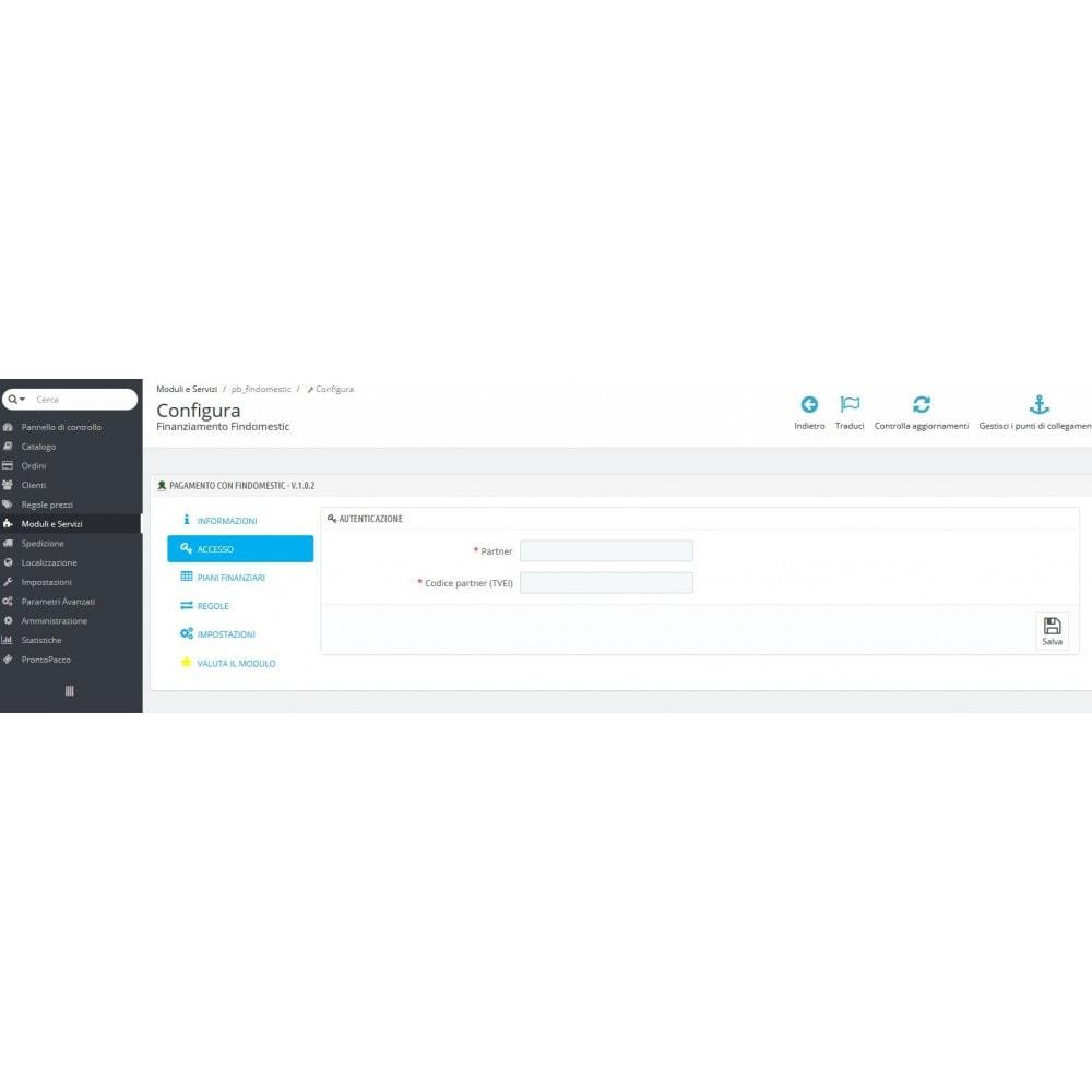 module - Inne środki płatności - Findomestic Payment - 3