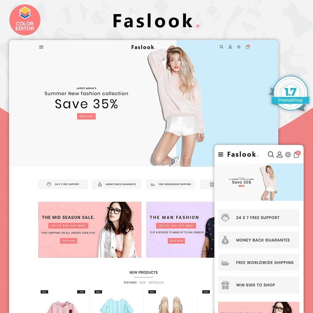 theme - Moda & Calzature - Fashlook - The Fashion Store - 1
