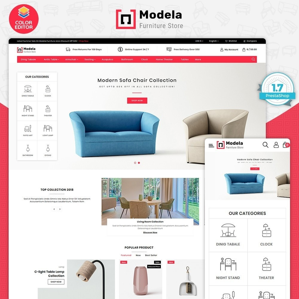 theme - Maison & Jardin - Modela - The Fashion Store - 1
