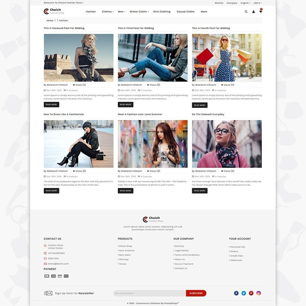 theme - Fashion & Shoes - Choicit  - The Fashion Store - 6