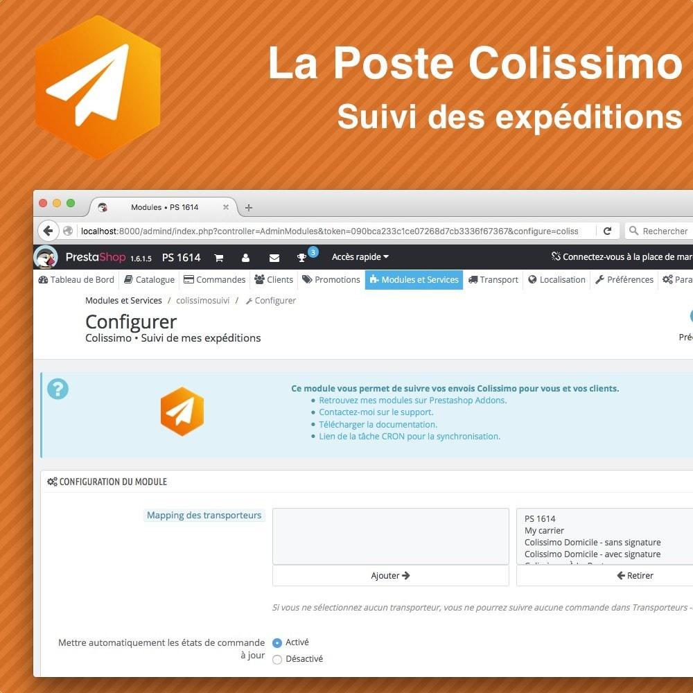 module - Sendungsverfolgung - Colissimo Suivi des expéditions - 2