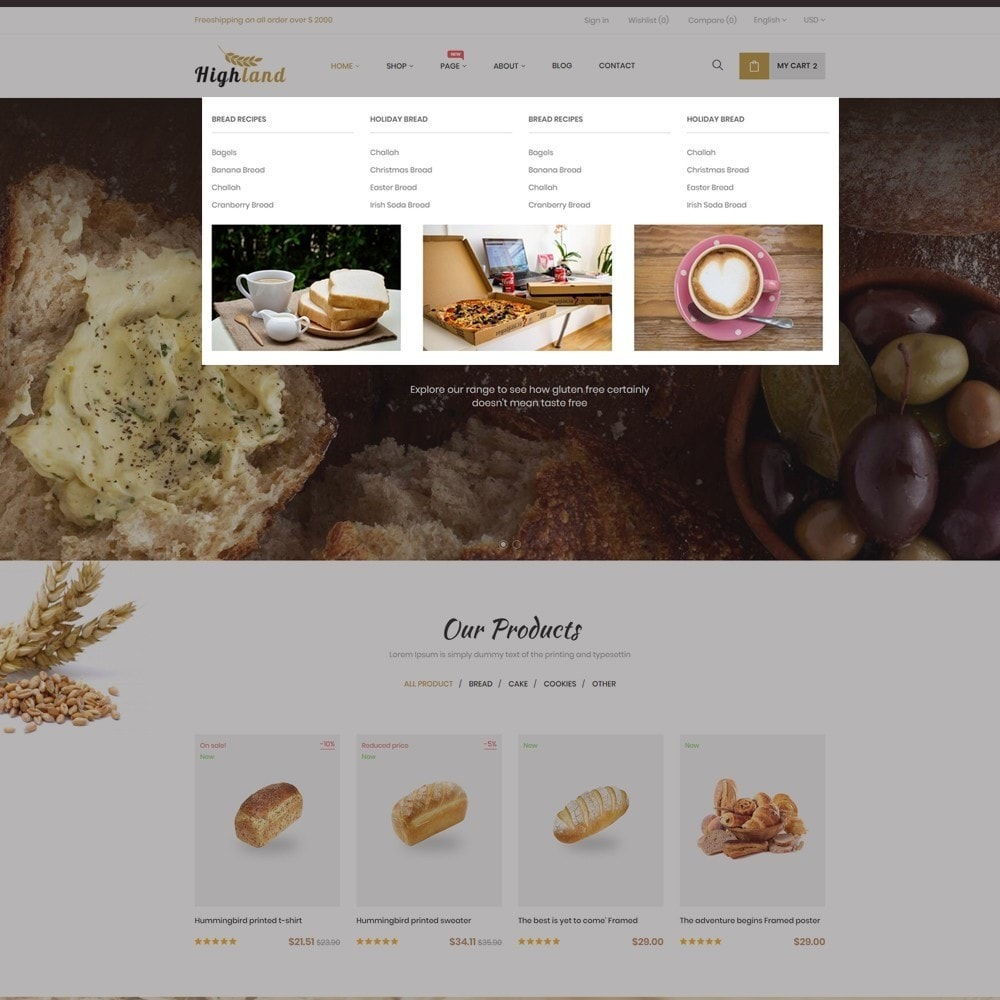 theme - Food & Restaurant - Bos Highlands Food & Drink Store - 2