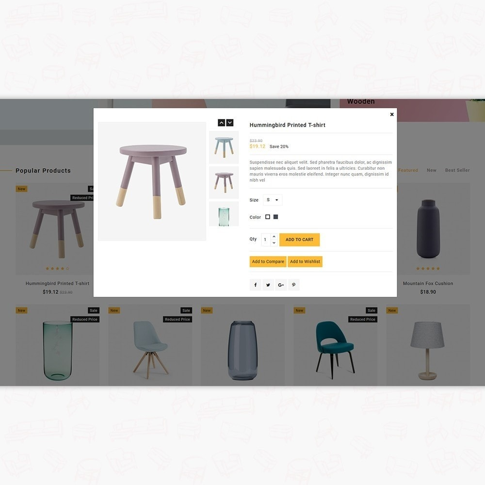 theme - Casa & Jardins - WoodCell - The Furniture Store - 7