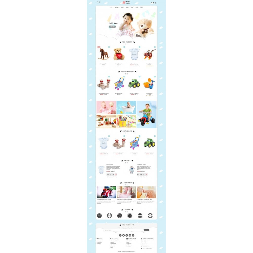 theme - Bambini & Giocattoli - Kids & Toys Store - 2