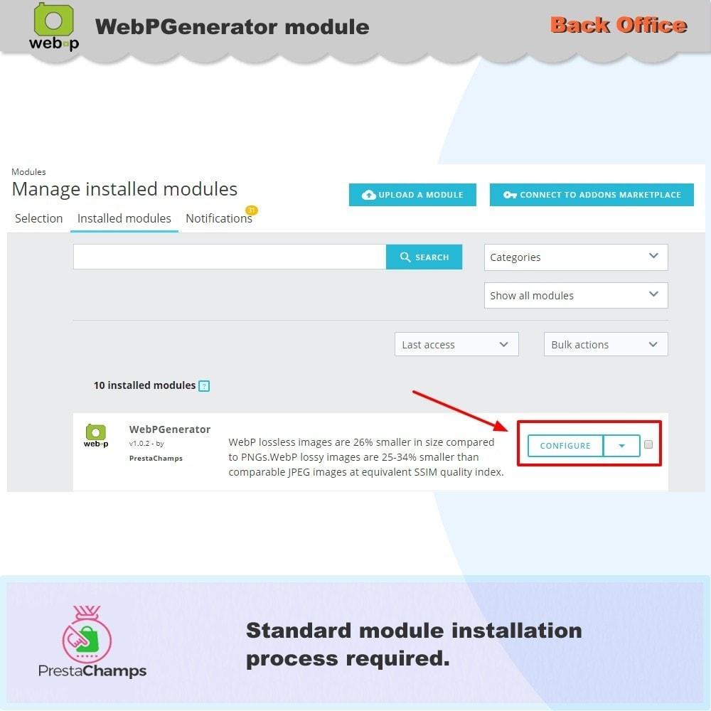 module - Visualizzazione Prodotti - Google WebP Immagine Generatore - Aggiornamento 2020 - 7