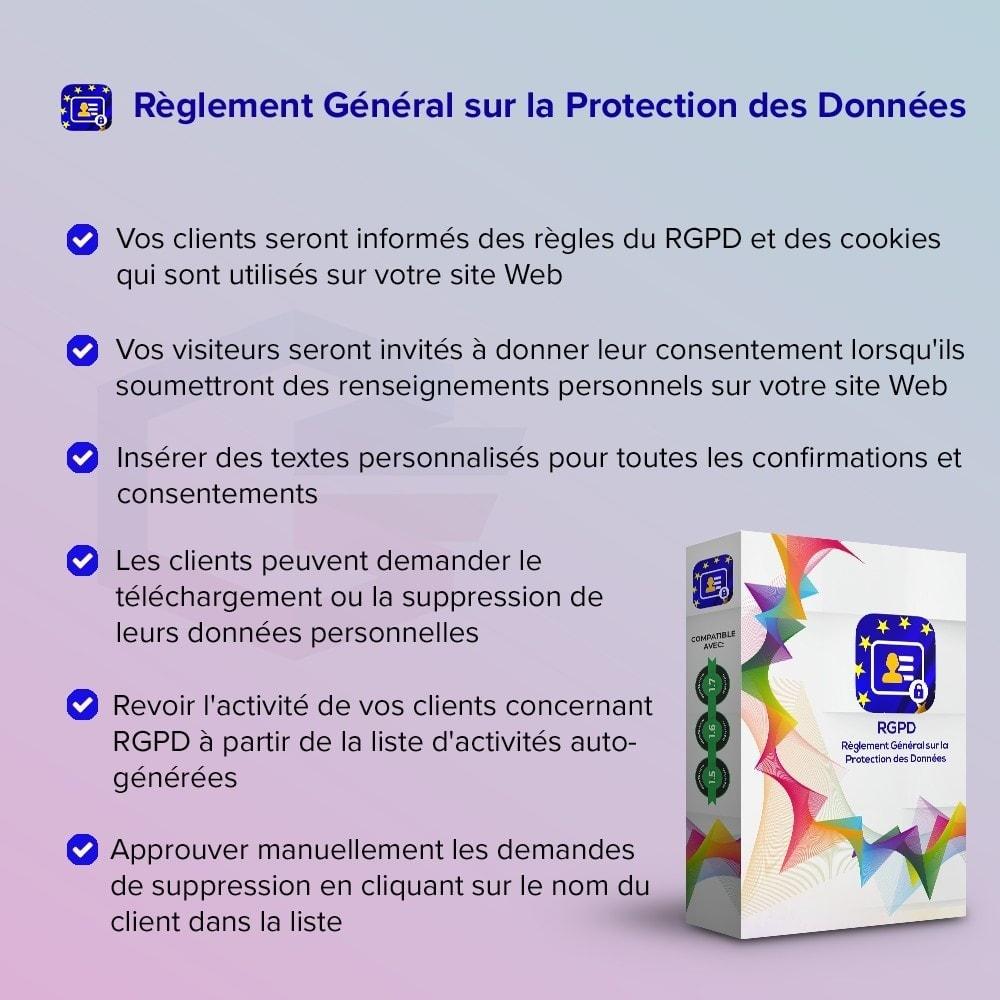 module - Législation - Règlement Général sur la Protection des Données - 1